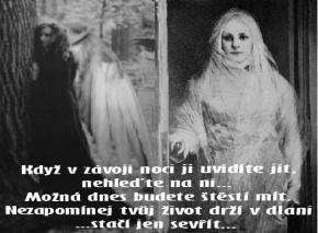 Říjen - Bílá a Černá paní